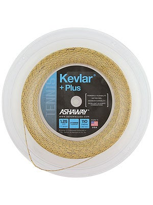 Ashaway Kevlar + Plus 17g 360' String Reel Gold/Black