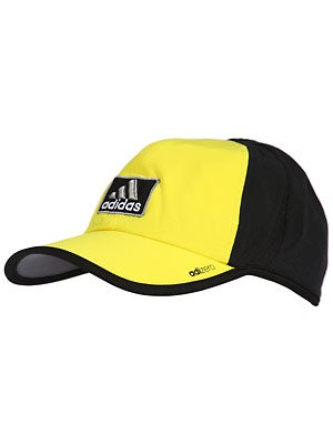 adidas Mens adizero II Hat Yellow/Black