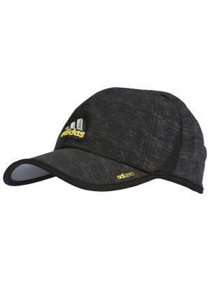 adidas Mens adizero Plus Hat Black/Yellow