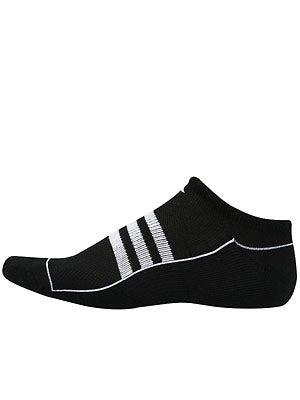 adidas Men's New Sport No-Show 2-Pack Socks Black