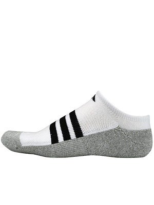 adidas Men's New Sport No-Show 2-Pack Socks White