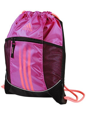 adidas Spring Alliance Sport Sackpack Bag Vivid Pink