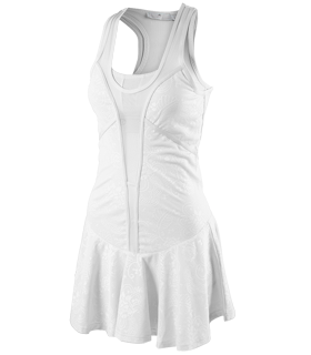 adidas by Stella McCartney - Tennis Performance Dress (White) - Apparel