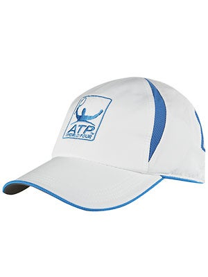 ATP World Tour Breeze Hat White/Blue