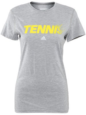 adidas Women's Spring Tennis Smash Ultimate Tee