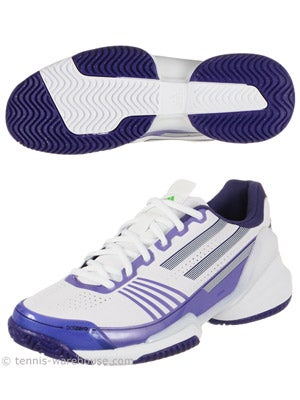 adidas adizero Feather White/Purple Women's Shoe