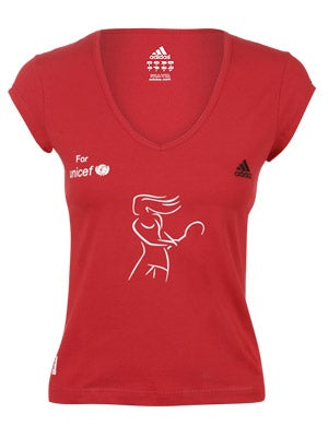 adidas Women's Ana Unicef Top