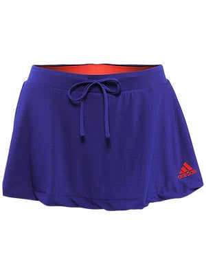adidas - Women's adipure Skort (Prime Ink Blue/Core Energy) - Apparel