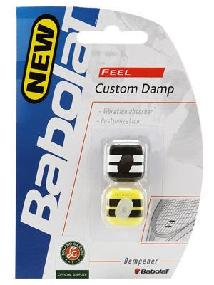 Babolat Custom Damp II Yellow/Black