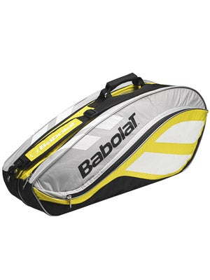 Babolat Club Line Yellow/Silver 6 Pack Bag