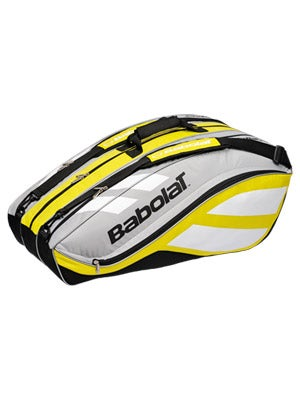 Babolat Club Line Yellow/Silver 12 Pack Bag