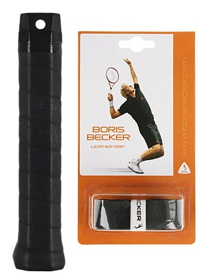 Becker Leather Replacement Grip Black