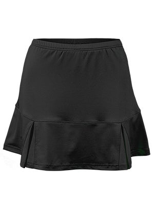 Bolle Women's Basic Pleated Skort- Black