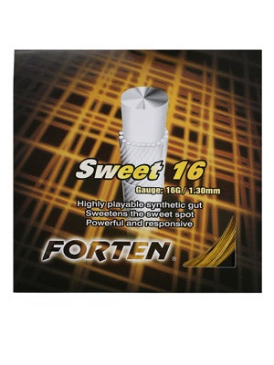 Forten Synthetic Gut Sweet 16 String