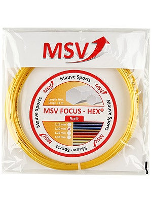MSV Focus Hex Soft 17L (1.20) String Yellow