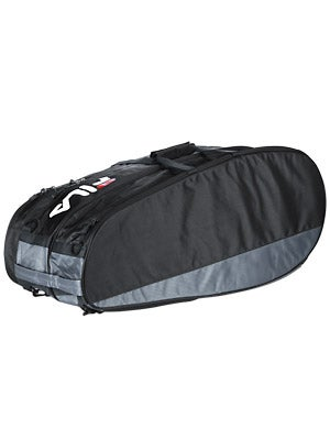 Fila Tennis 6 Pack Bag Black/Grey