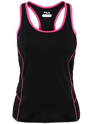Fila Womens Day Glo Racer Tank