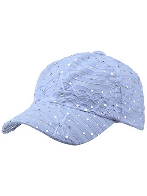 The Alabama Girl Glitter Hat Light Blue