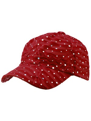 The Alabama Girl Glitter Hat Red