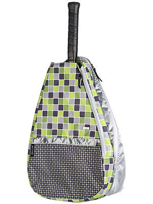Glove It Tennis Backpack Lime Tile