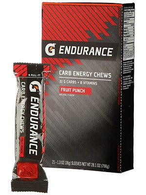 G Series Pro Carb Energy Chews (21 pack caddy)