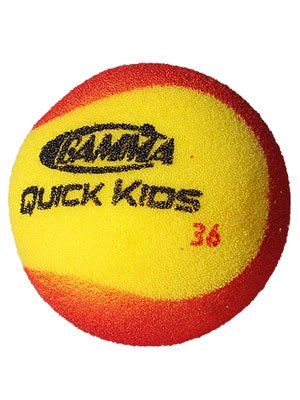 Gamma Quick Kids Red Foam Tennis Ball (12 Pack)