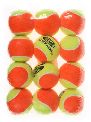 Gamma Quick Kids Orange Ball (12 Pack)
