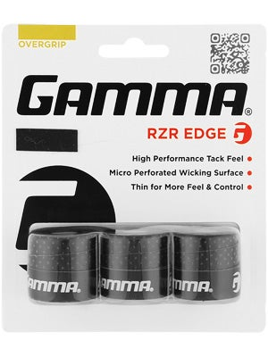 Gamma RZR Edge Overgrip Black