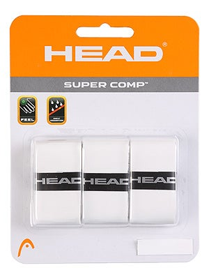 Head Super Comp Overgrip White 3 Pack