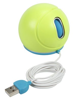 Jelfin Tennis Ball Mouse (Blue Accent)