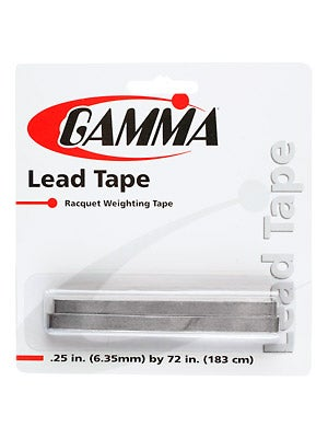 Gamma Lead Weight Tape (1/4 inch)
