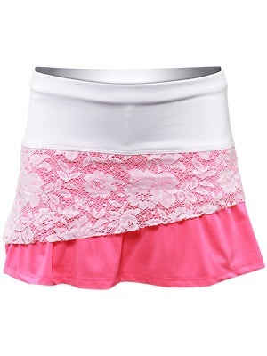 Lucky In Love Girl's Ms. Graphics Lace Skort