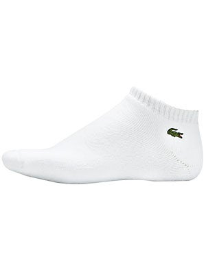 Lacoste Low Cut Ped Socks White