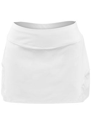 Lija Women's Basic Deuce Skort - White