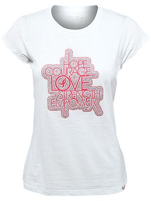 New Balance Women's Pink Ribbon Courage Tee