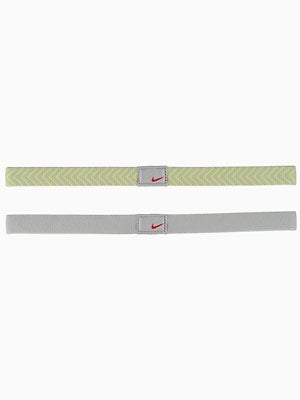 Nike Chevron Sport Hairband Grey/Yellow