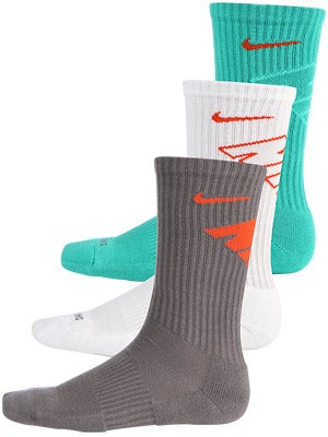 Nike Dri-Fit Fly Crew Sock 3-Pack