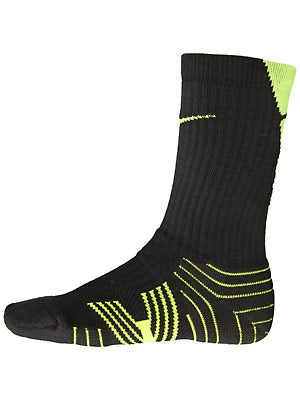 Nike Performance Crew Sock 2-Pack Bk/Volt