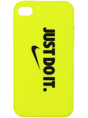 Nike Graphic iPhone 4/4s Soft Case Volt