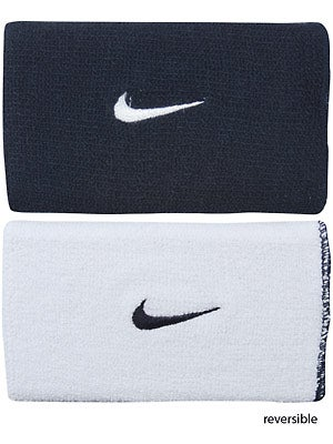 Nike Home & Away Wristband Navy/White