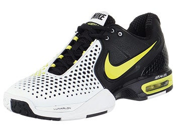 Nike Air Court Ballistec 3.3 Wh/Bk/Yel Men's Shoe