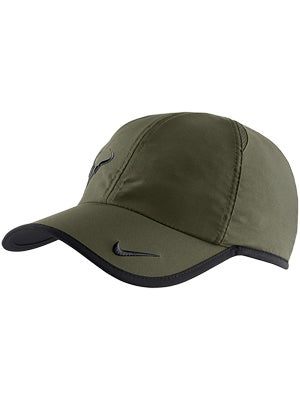 Nike Men's Holiday Rafa Bull Logo Hat Khaki