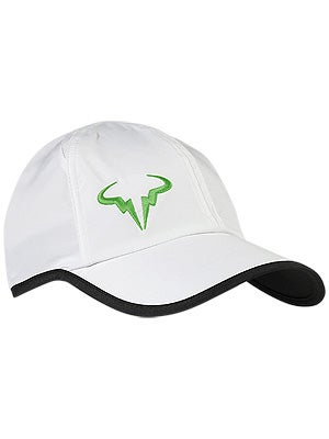 Nike Rafa Bull Feather Light Hat White/Green