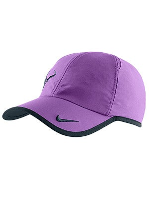 Nike Men's Spring Rafa Bull Logo Hat Atomic Purpl