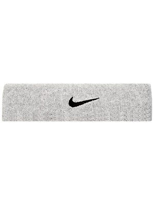 Nike Swoosh Headband Grey/Black