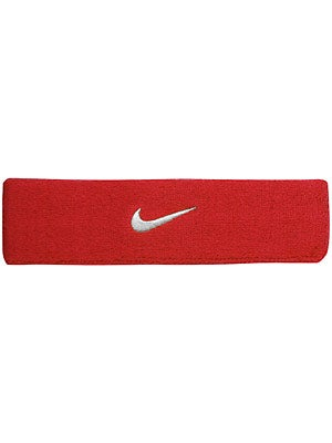 Nike Swoosh Headband Red/White