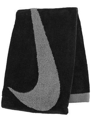 Nike Swoosh Medium Sport Towel Black