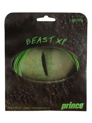 prince beast  xp green tennis string