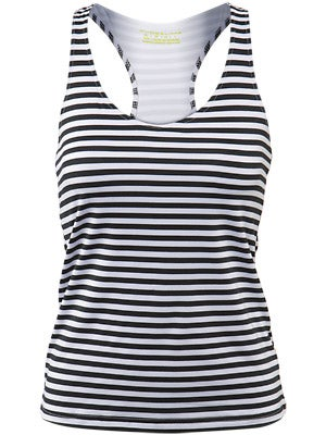 Pure Lime Women's Spring Striped Tank