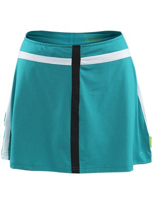 Pure Lime Women's Taping Trim Skort